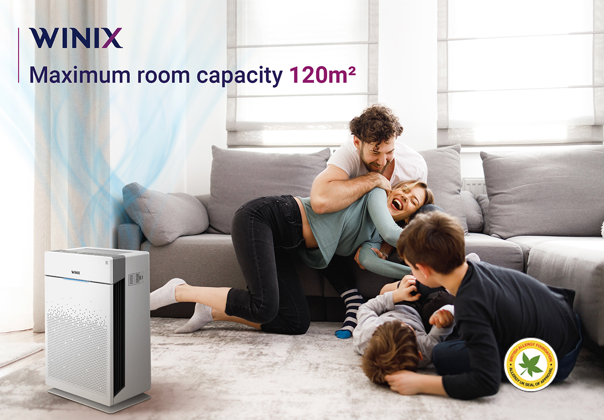 Air purifier Maximum room capacity UK