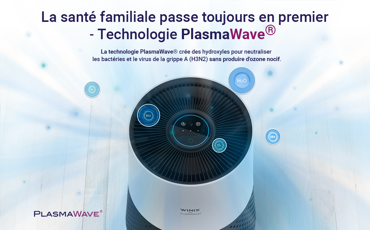 purificateur d'air pour virus